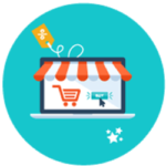 Icono ecommerce retail